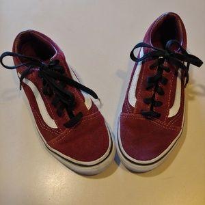 Kid's VANS Suede Sneakers